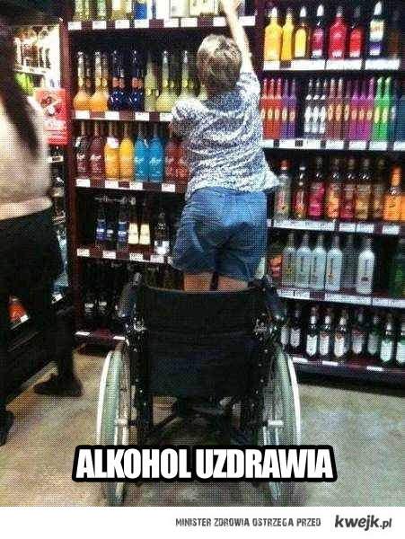 alkohol uzdrawia