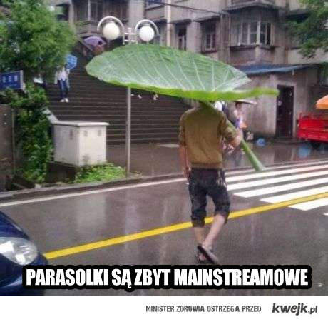 hipsterowy parasol