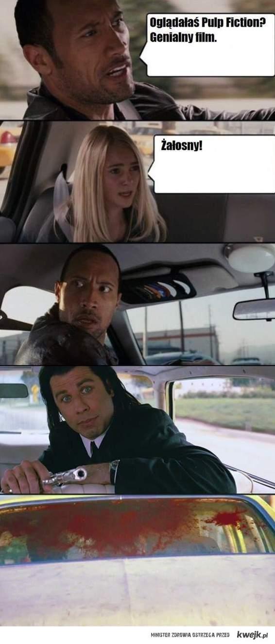 Pulp Fiction - świetny film. : D