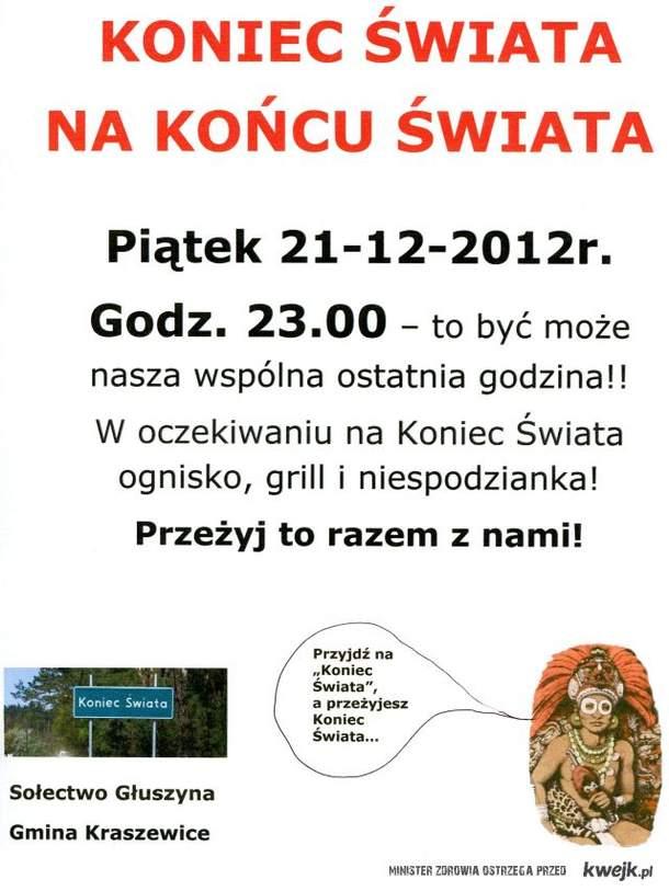 """Impreza na """"Końcu Świata"""" - gmina Kraszewice"""