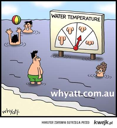 termometr nad polskim morzem