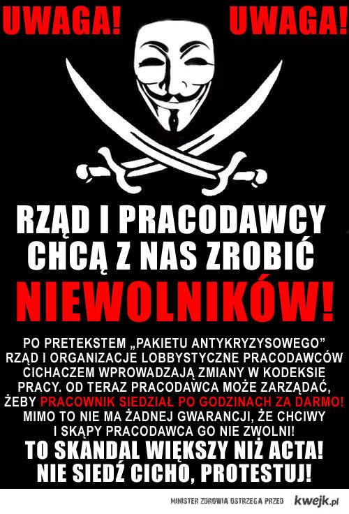 SKANDAL WIĘKSZY NIŻ ACTA!