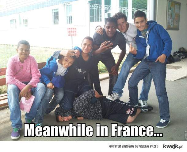 Meanwhile in France...