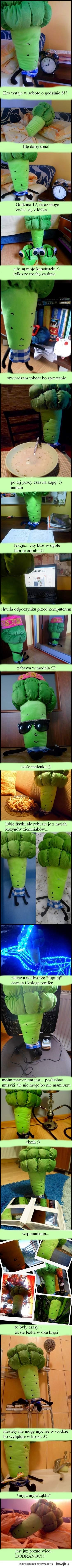Z życia brokuła