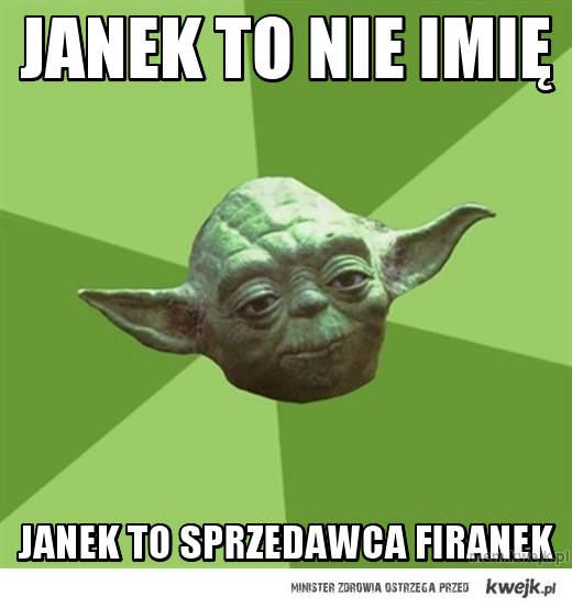 Janek to nie imię