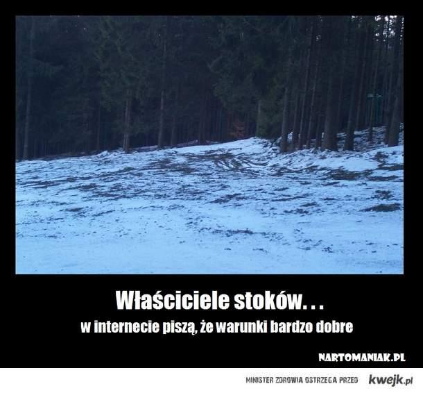 Właściciele stoków narciarskich...