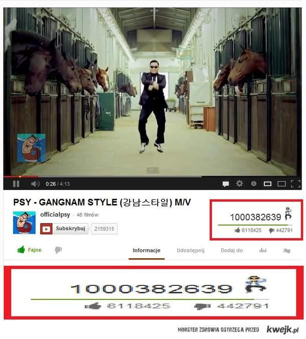 miliard gangnam style