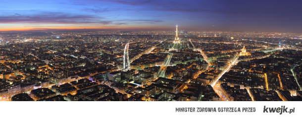 Paryż nocą <3