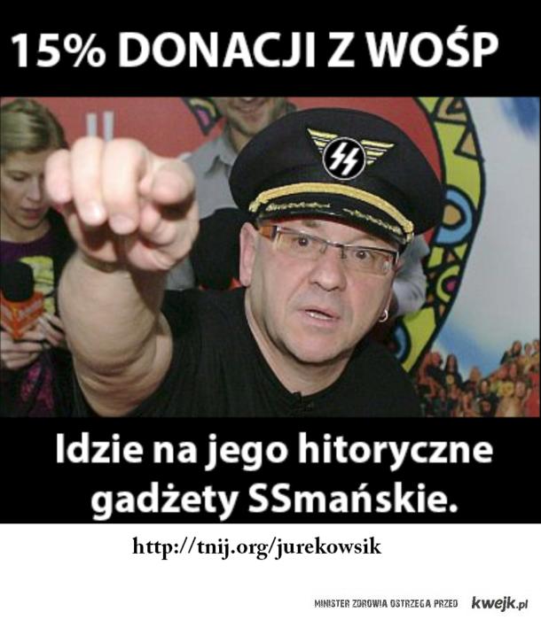 nazi owsiak