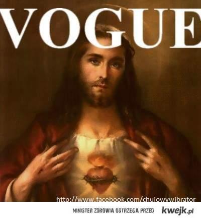 jezus w vogue'u