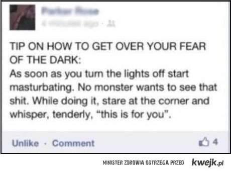 sposób na nocne potwory