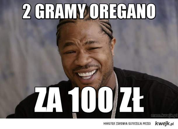2 gramy oregano