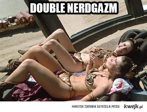 double nerdgazm