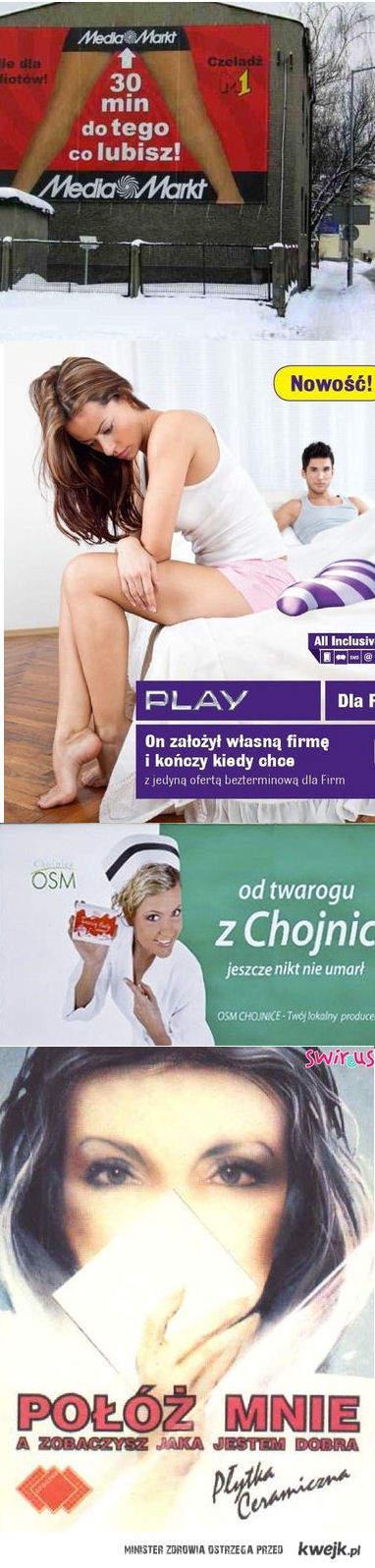 Najgorsze reklamy w Polsce