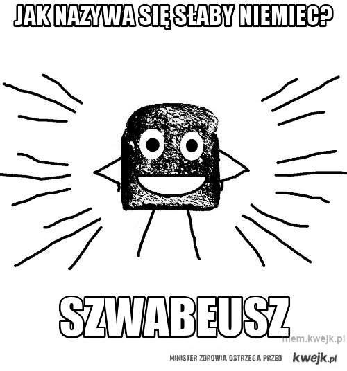 Jak nazywa się słaby niemiec?
