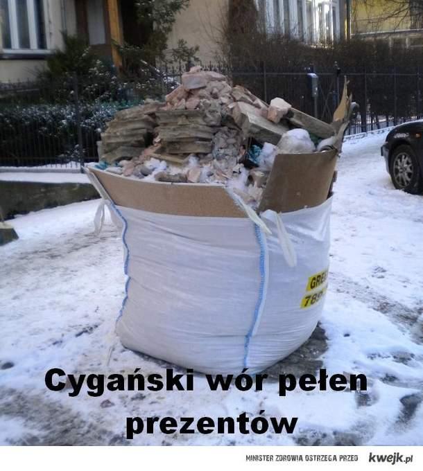 Cygański wór pełen prezentów