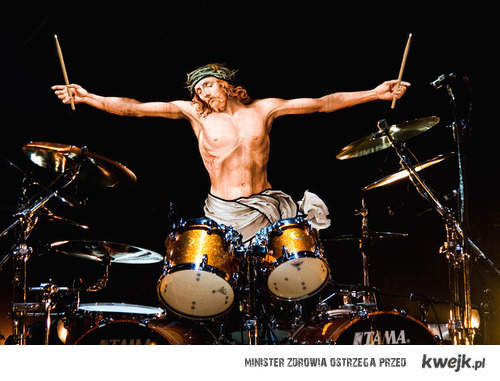 Jezus perkusista