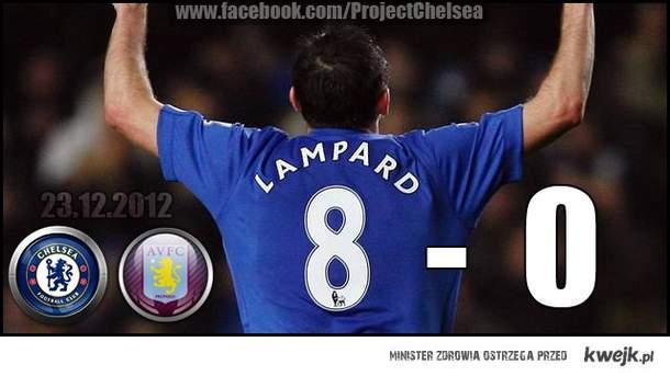 Chelsea 8 - 0 Aston Villa