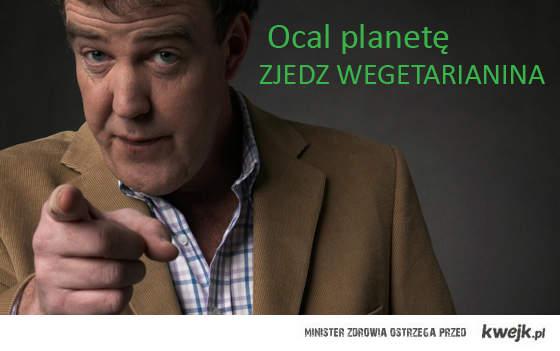 Jeremy Clarkson o wegetarianistach