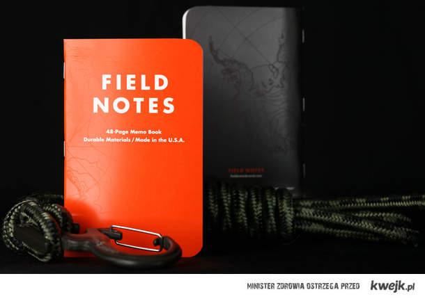 [lajfmen_pl] Wyprawowy notatnik papierowy - odporny na wodę i nie tylko.