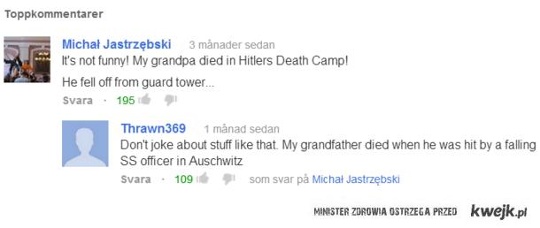 nazi żarty