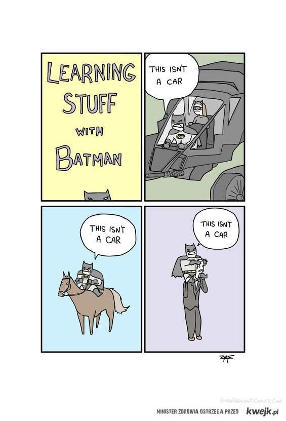 nauka z batmanem