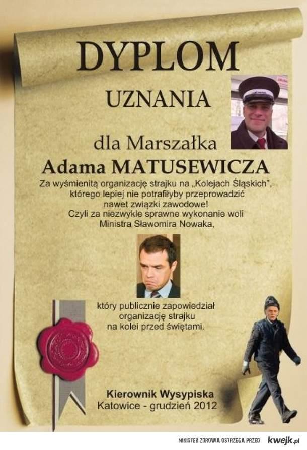 Dyplom Uznania PKP!