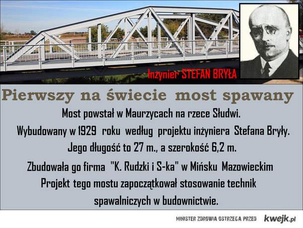 Pierwszy na świecie most spawany w Polsce !