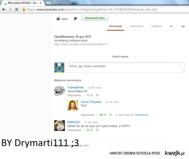 Jezus na Youtube..