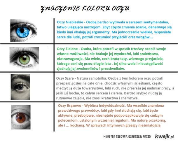 Kolory oczu