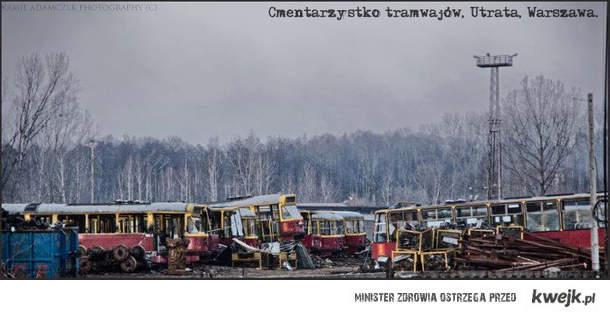 cmentarzysko tramwajów