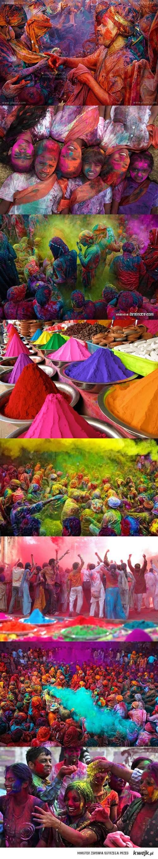 Holi - Hinduskie Święto Wiosny