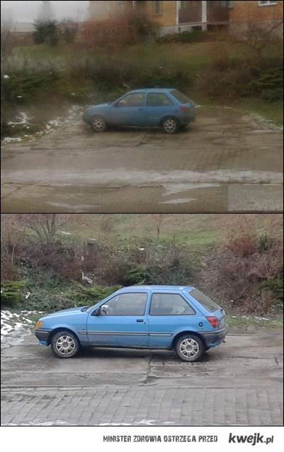 miszcz parkowania znowu w akcji
