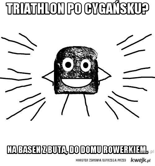 Triathlon po cygańsku?