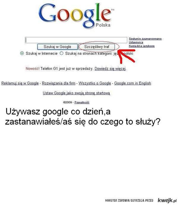 Masz google?