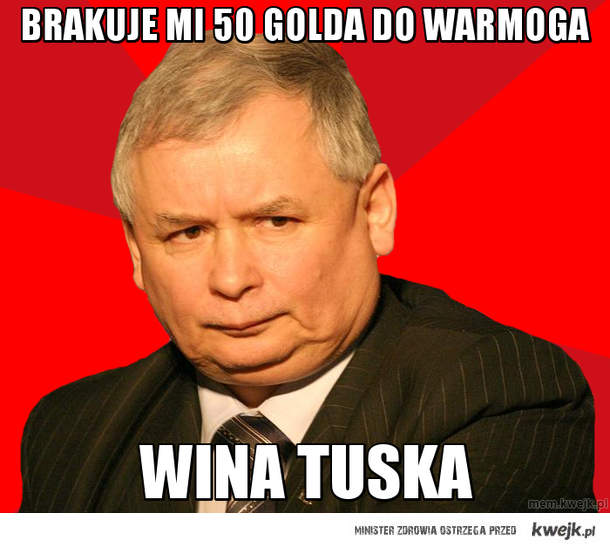 Brakuje mi 50 golda do warmoga