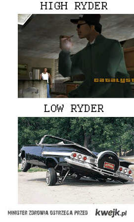 High Ryder i lowrider