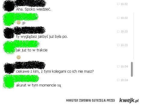 Ambitne rozmowy na Facebooku...