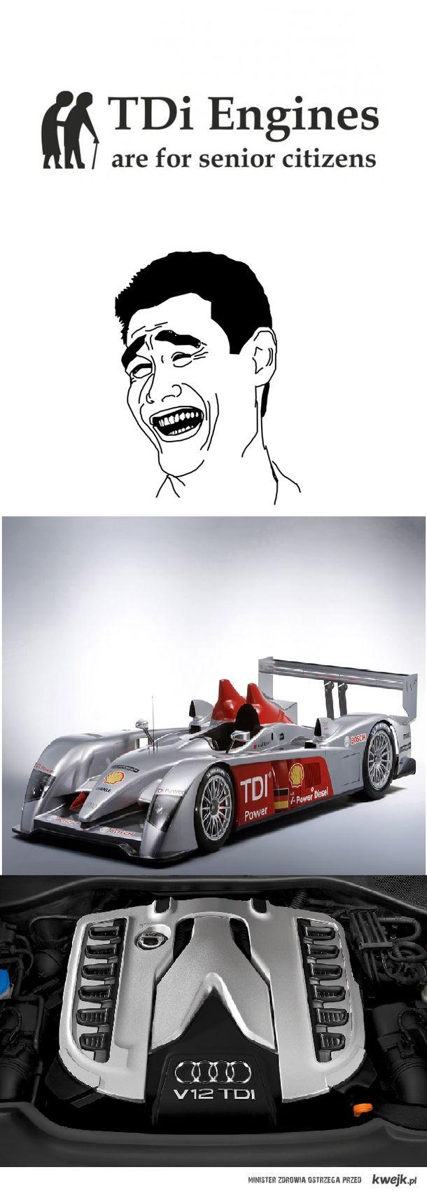 Audi mówi nie nudnemu TDi