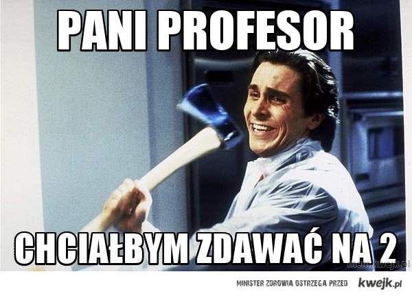 Pani profesor