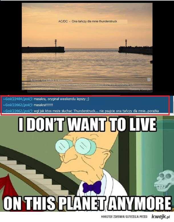 I don't wanna live