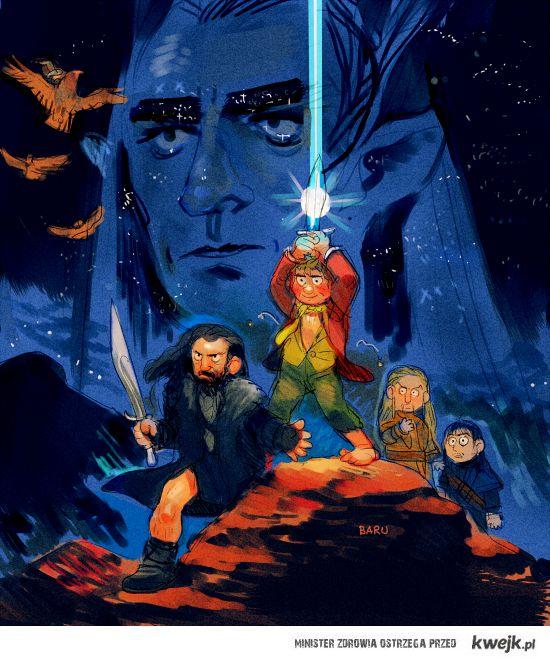 hobbits wars