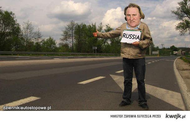 Gerard łapie stopa do Rosji
