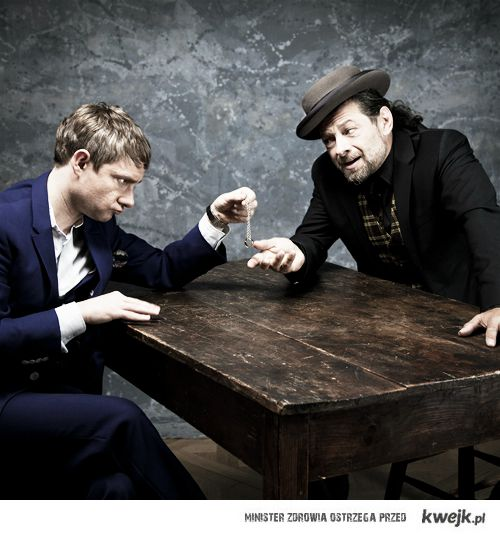 Bilbo i Gollum