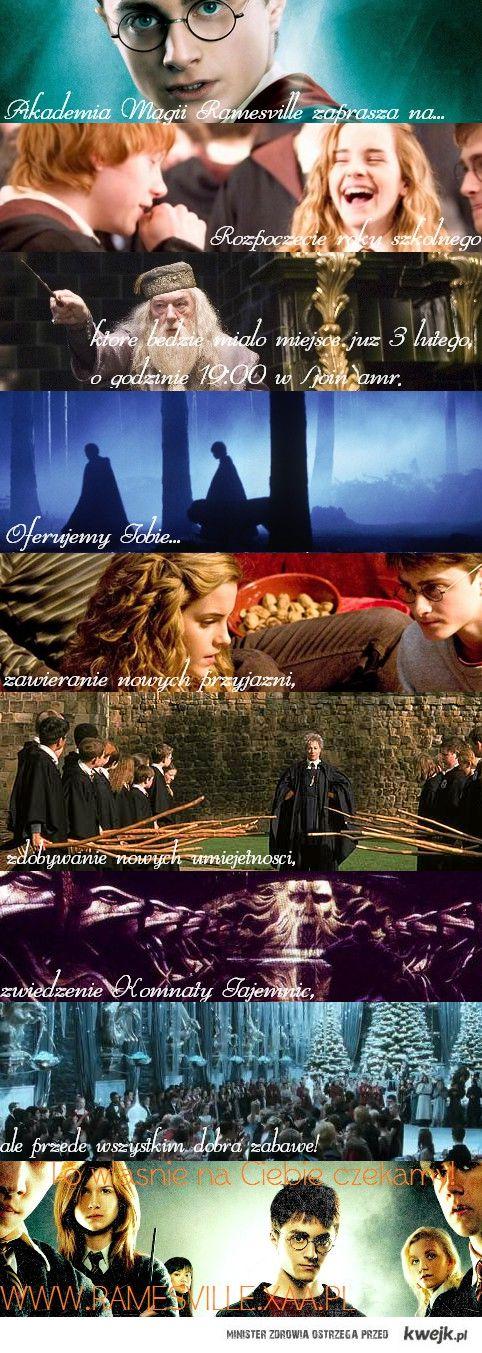 I to możesz zostać czarodziejem!