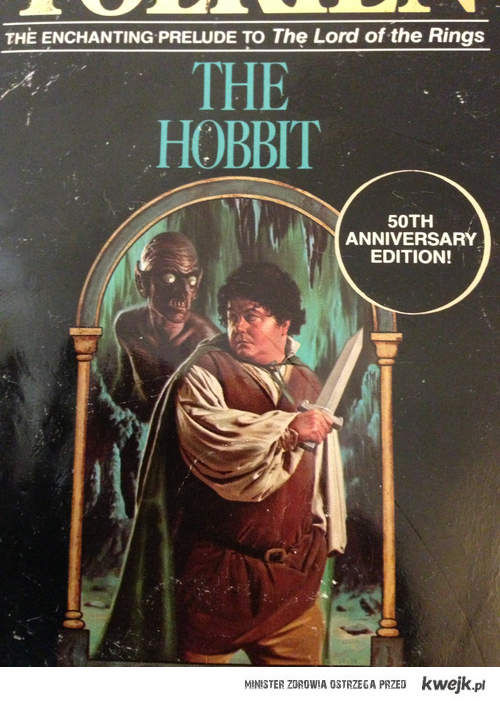 Stara okładka Hobbita