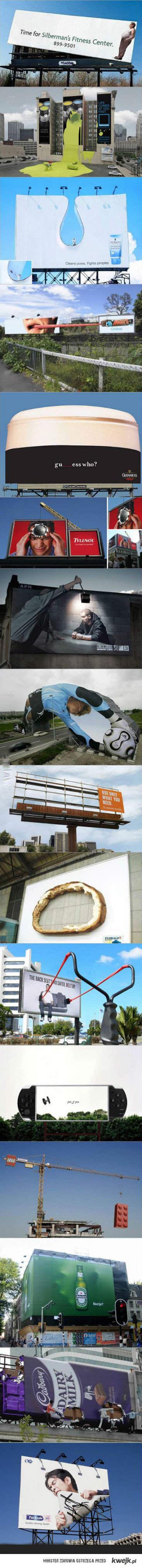 oryginalne reklamy