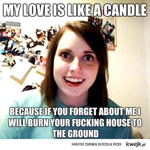 Miłość jak świeca