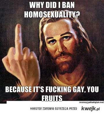 Jezus o homo-seksualności