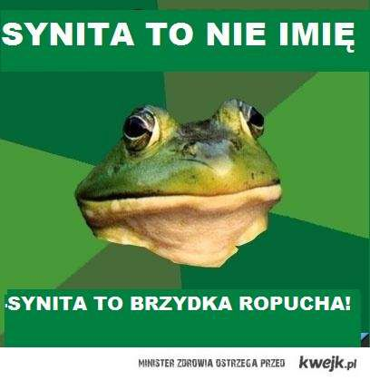 Synita to nie imię